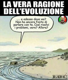 vignetta evoluzione darwin
