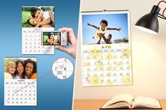 £4.99 instead of £16.99 (from Smiley Hippo) for a personalised A4 photo calendar - add a unique touch to your home and save 71%