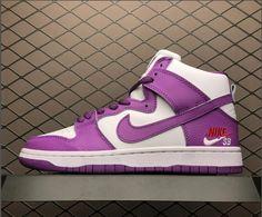 92bbb1f74c8d Womens Nike SB Zoom Dunk High PRO Purple White 854851-300