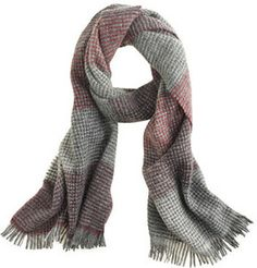 Patchwork grid scarf on shopstyle.com