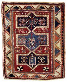 Caucasian Fachralo rug, late 19th