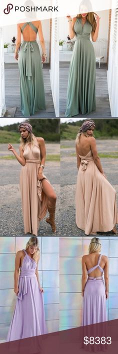 30% OFF BUNDLESEND TONIGHT If you like my items, please FOLLOW ME to see NEW ARRIVALS. Limited sizes & qualities available. Posh Garden Dresses Maxi