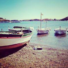 More boats on the beach in Costa Brava