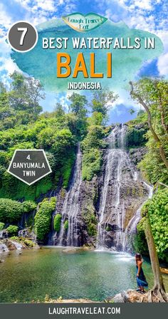 Bali is famous for many things, and waterfalls is one of them. Most of them are in the north, among the mountains. Here's a list of the 7 best Bali waterfalls to visit: bali waterfalls indonesia 740771838686798192 Bali Travel Guide, Asia Travel, Travel Guides, Travel Tips, Travel Destinations, Travel Articles, Wanderlust Travel, Bali Waterfalls, Tours