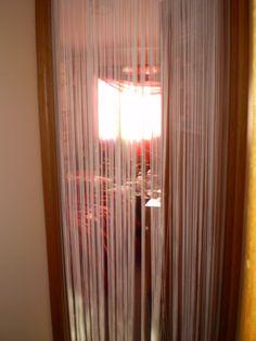 tassels in doorway