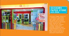 Grab the latest copy of 8 Days or iWeekly and you will find Suntec City Guide with Scissors Paper Stone Featured Kids Hair Salon, Baby Haircut, Salons, Hair Cuts, Entertaining, 8 Days, Joyful, Scissors, Fun