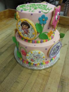 Go on an adventure with our Yummy Dora the Explorer Cake!