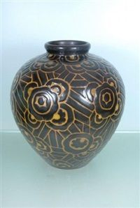 Vase by Charles Catteau
