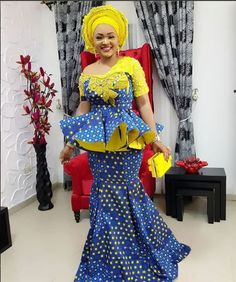 Mercy Aigbe Recent Pictures : Cute Ankara Skirt and Blouse Styles.Mercy Aigbe Recent Pictures : Cute Ankara Skirt and Blouse Styles Ankara Gown Styles, Latest Ankara Styles, Ankara Gowns, Ankara Dress, African Fashion Ankara, Latest African Fashion Dresses, Latest Fashion, African Attire, African Dress