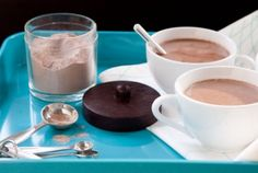 Spoon this hot chocolate mix into jars to give as gifts, or keep some on hand in