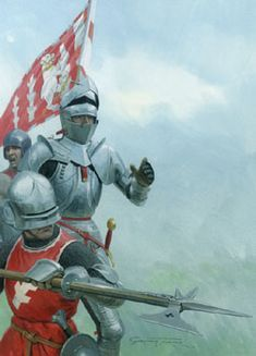 Medieval Life, Medieval Armor, Battle Of Bosworth Field, Graham Turner, Crusader Knight, Wars Of The Roses, Knight Art, Festival Posters, Military Art