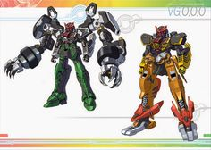 V Gundam x Kamen Rider OOO MEGA: MAX - Fanmade Images - Gundam Kits Collection News and Reviews