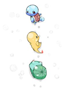 Follow Me... No Squirtle does not have a red button nose, its red cuz its snowing and hes nose is turning red