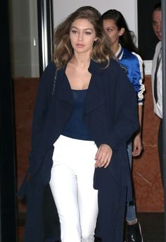 Models and sisters Gigi and Bella Hadid were spotted out and about in New York City, New York on June 9, 2016. Rumors are swirling about a possible break up between Gigi and her boyfriend Zayn Malik. However, Zayn was seen leaving her house earlier in the day.