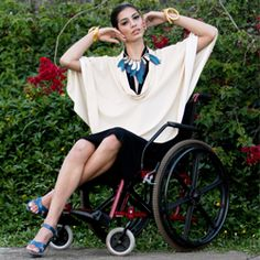 Moda inclusiva>>> See it. Believe it. Do it. Watch thousands of spinal cord injury videos at SPINALpedia.com