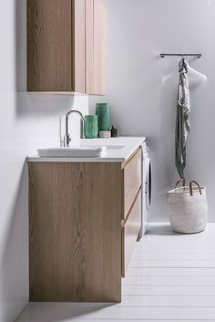 1200 Laundry Cabinet with 750 Top Cupboards Laundry Cabinets, Cupboards, Bathroom Furniture, Bathroom Inspiration, Luxury, Top, Design, Armoires, Closets