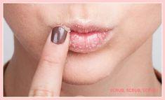 DIY Lip Scrub: Scrub