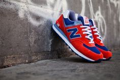 New Balance Red Blue | Shoes