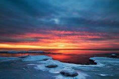 Skanör, Sweden Nikon D300, Clouds, Sky, Celestial, Sunset, Outdoor, Heaven, Outdoors, Heavens