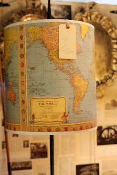 Lamp for the boy - DIY??  must investigate.  or likewise from a map of stars