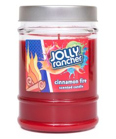 Loving this Jolly Rancher Cinnamon Fire 10.5-Oz Jar Candle on #zulily! #zulilyfinds