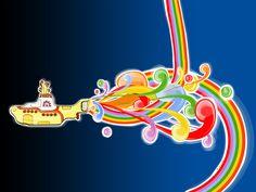 The Beatles Yellow Submarine Wallpaper Backgrounds Yellow Submarine Movie, Festa Yellow Submarine, Julian Lennon, Linda Mccartney, Abbey Road, Ringo Starr, George Harrison, Beatles Birthday Party, Baby Birthday
