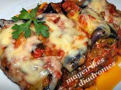 recipe image Cookbook Recipes, Cooking Recipes, Healthy Recipes, Greek Cooking, Greek Dishes, Eggplant Recipes, Recipe Images, Mediterranean Recipes, Greek Recipes