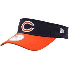 Chicago Bears New Era NFL Sideline Visor - Navy