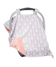 Another great find on Silver Arrow & Coral Minky Car Seat Canopy Get Baby, Baby Love, Cozy Cover, Sleep Solutions, Baby Bundles, Kids Outfits Girls, Cozy Blankets, New Parents, Seat Covers