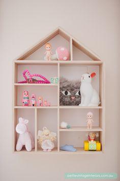 Asher's Room Tour – Petite Vintage Interiors Kids Room Shelves, House Shelves, Box Shelves, Wall Shelves, Deco Kids, Vintage Interiors, Kids Decor, Home Decor, Little Girl Rooms