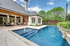 The Greenbrier Project - traditional - pool - dallas - LRO Residential