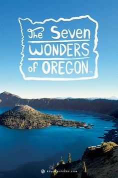 Take a road trip through Oregon and experience the gorgeous landscapes for yourself. The Seven Wonders of Oregon, how many have you been to?
