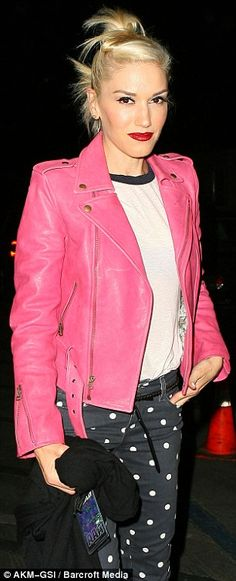 Shut up! A pink leather jacket!! Must have!