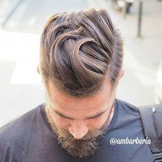 Haircut by ambarberia http://ift.tt/21QRZMq #menshair #menshairstyles #menshaircuts #hairstylesformen #coolhaircuts #coolhairstyles #haircuts #hairstyles #barbers