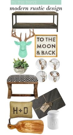 Try This Trend: Modern Rustic Design