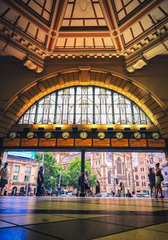 The view as you leave the main exit at Flinders Street Station, Melbourne Melbourne Victoria, Victoria Australia, Places In Melbourne, Free Things To Do, Melbourne Australia, City Streets, Landscape Photos, Gold Coast, Historical Photos