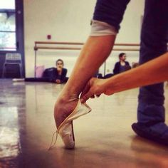 Evelyn Bovo's gorgeous feet. La Scala Ballet School.