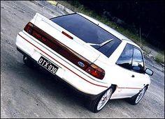 Ford Laser TX3 Turbo 4x4 - My last race car