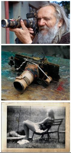 Miroslav Tichy was a photographer who from the until 1985 took thousands… Film Photography Tips, History Of Photography, Photography Lessons, Amazing Photography, Portrait Photography, Old Cameras, Vintage Cameras, Miroslav Tichy, Rare Images