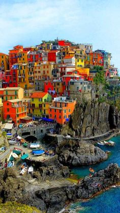 There's no place like Cinque Terre, Italy. There's no place like Cinque Terre, Italy. Places Around The World, Oh The Places You'll Go, Places To Travel, Places To Visit, Around The Worlds, Travel Things, Travel Stuff, Dream Vacations, Vacation Spots