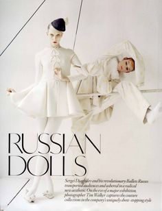 'Russian Dolls', Karlie Kloss photographed by Tim Walker for British Vogue October 2010.