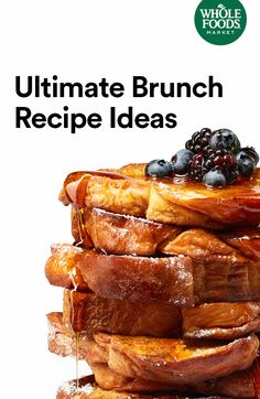 We're sharing our favorite crowd-pleasing Easter brunch recipes that make the most of spring flavors. Examples: French toast, quiche, pastries, casserole and mango mimosas.