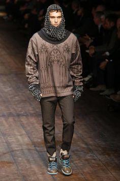 Dolce & Gabbana Menswear Fall Winter 2014 Milan - NOWFASHION