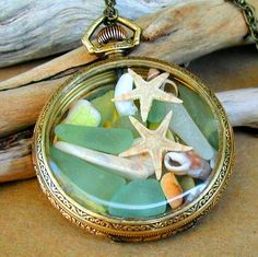 by Ike Travis at Newsprout Seaglass Jewelry