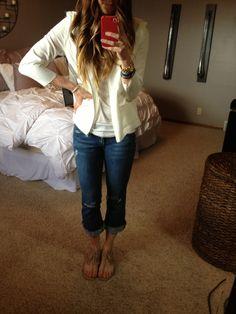 Cella Jane // Fashion + Lifestyle Blog: DIY Boyfriend Jeans