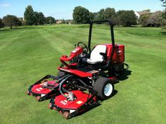 2010 Toro Groundsmaster® 3500 D Sidewinder Rotary Mower with 1263 hours