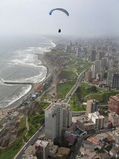 Miraflores, Lima - Peru. Last trip this is where we stayed directly across from Larco mar...amazing views every day
