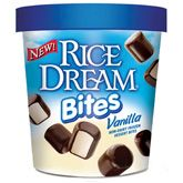 Can't have ice cream due to a dairy allergy? Bought these for my kids yesterday and I have to say they are really good. They ate half the container on the way home from Whole Foods. Rice Dream Bites are all-natural, lactose, gluten and cholesterol free, with no transfat or refined sugars.