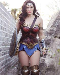 Wonder Woman from DC Comics by Anna Faith
