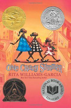 One Crazy Summer: Rita Williams-Garcia Coretta Scott King, Black Panthers, This Is A Book, The Book, Book 1, King Book, Book Nerd, New York Times, Nex York